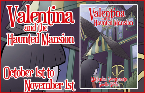 Book Tour for Valentina and the Haunted Mansion