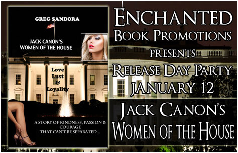 Release Day Party Jack Canon's Women of the House