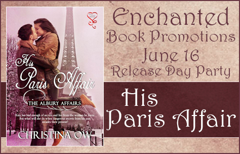 Release Day Party His Paris Affair