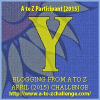 Blogging A to Z Challenge: Y is for