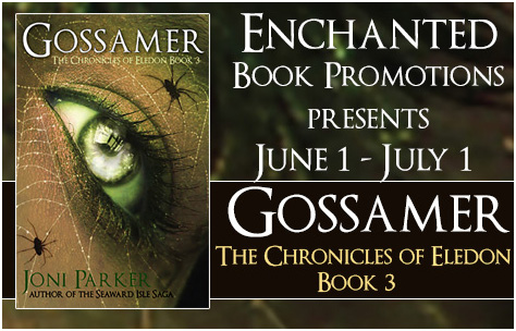 Author Interview and Giveaway Gossamer: Chronicles of Eledon Book 3