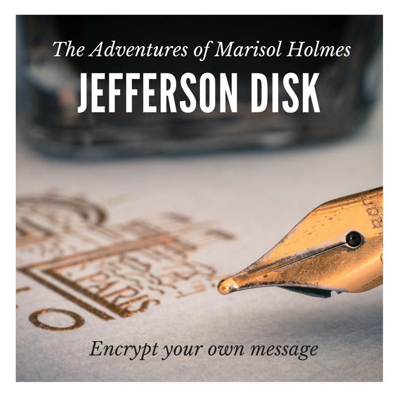 The Adventures of Marisol Holmes: Jefferson Disk