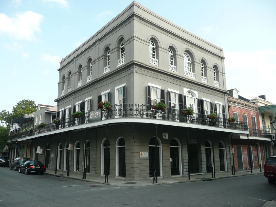 Real Haunted Houses: LaLaurie House