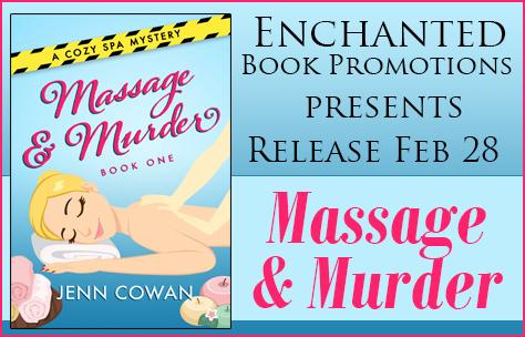 Release Blitz Massage & Murder