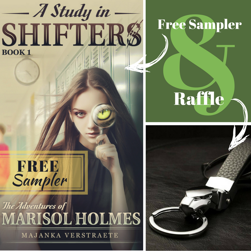 Jaguar Keychain Raffle to Celebrate Release Free Sampler A Study in Shifters