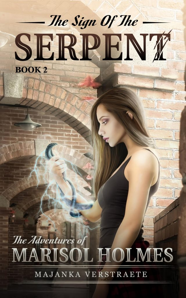Cover Reveal: The Sign of the Serpent