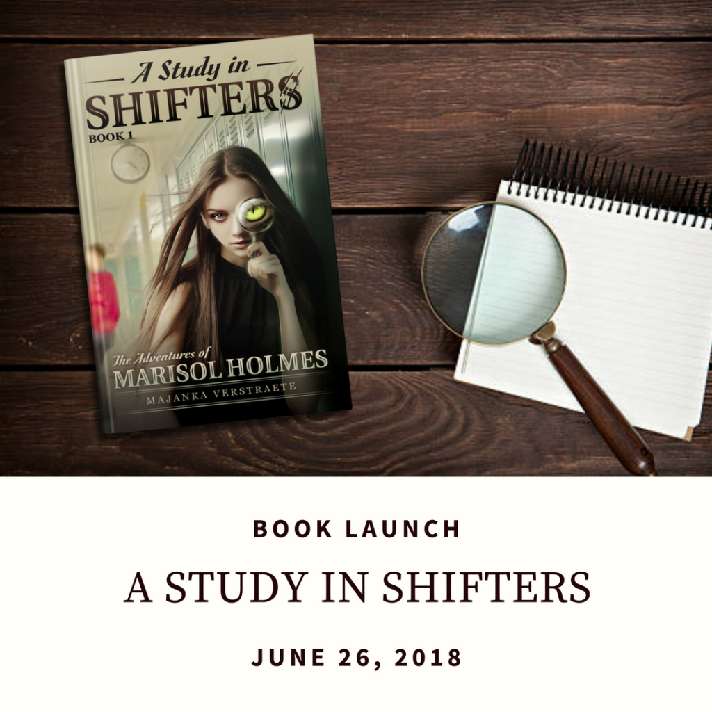 Launch Day for A Study in Shifters