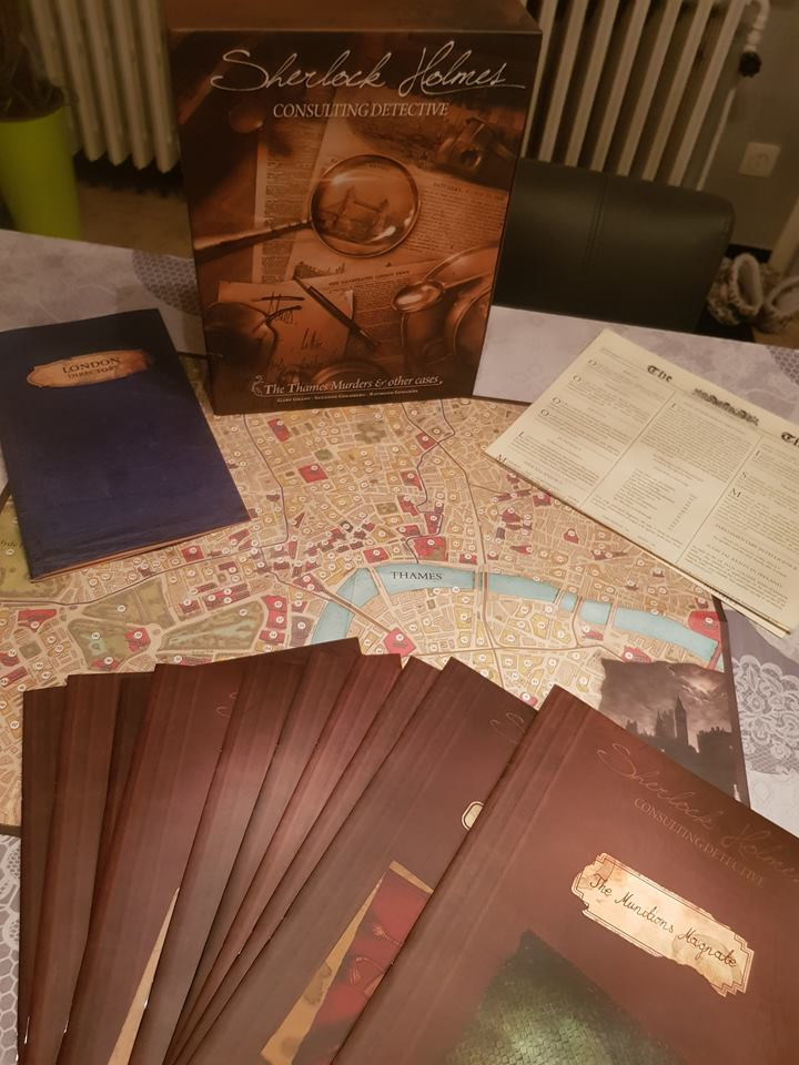 Game Review: Sherlock Holmes Consulting Detective – The Thames Murders & Other Cases