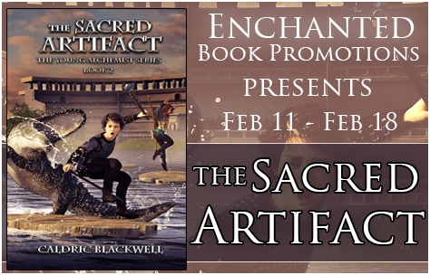 Author Interview and Giveaway The Sacred Artifact