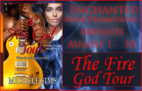Author Interview The Fire God Tour