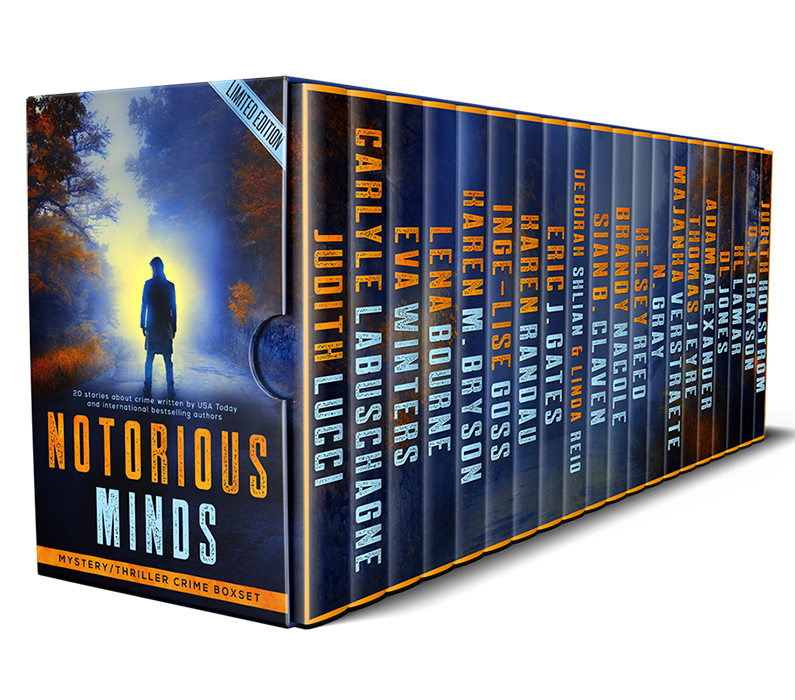 Cover Reveal: Notorious Minds