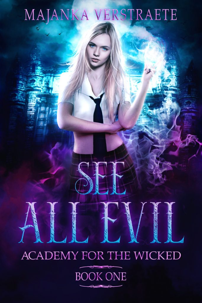 Cover Reveal: See All Evil – Academy for the Wicked Book One