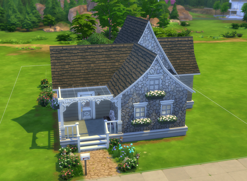 Sims 4: Flower Cottage (no cc + basegame only)