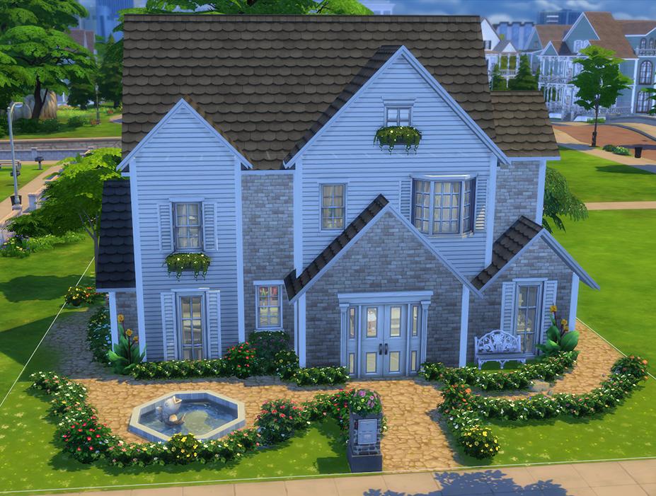 Sims 4: Family Home (no cc)